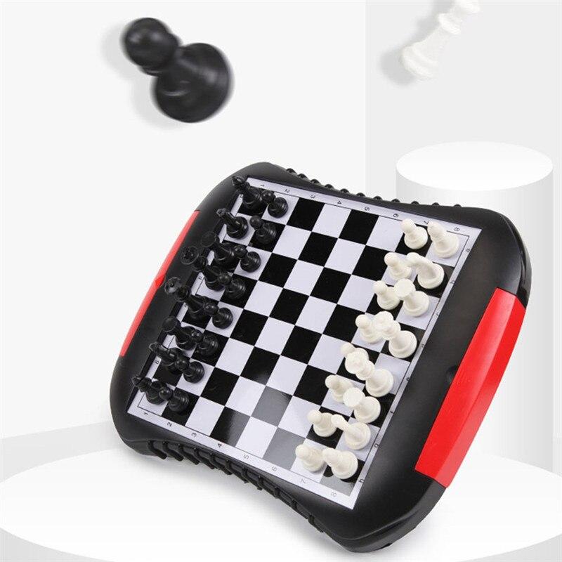 Kinderen Puzzel Board Lade Stijl Schaken Magnetische Mini Familie Spel Schaken Set Voor Vriend Kinderen Kid Gift Board Game