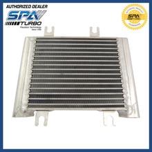 Для Nissan R35 GTR GT-R Алюминиевый масляный радиатор обновления подходит 2009-09-16 NISSAN GT-R 3.8L-V6-Engine масляный радиатор 21305JF02B
