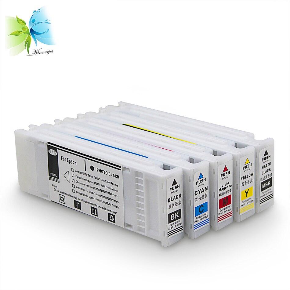 Winnerjet Inkjet Cartridges With Pigment Ink for Epson T3200 T5200 T7200 Compatible