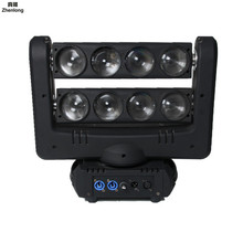 цена на Moving 100w LED Moving Head Gobo Light Led Dmx 512 Control Dj Diso 8 Eyes Spider Moving Heads Light 4-in-1 Beam Led Stage Lights