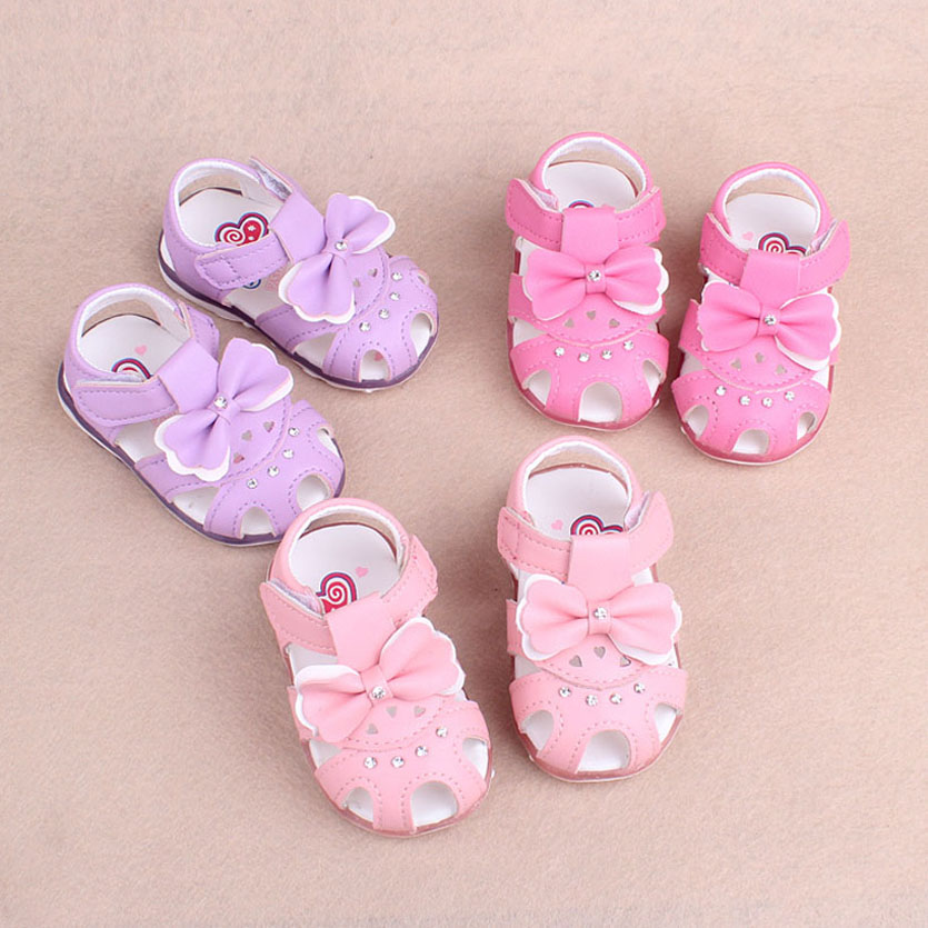 Summer Style Children Sandals Girls Princess Shoes Enfants Chaussures Filles Beautiful Baby Girl Shoes Kidsflat Sandales