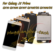 Хорошее Для Samsung Galaxy J5 премьер G570 G570M G570Y G570F/DS G570M/DS полный ЖК-дисплей дисплей + Сенсорный экран планшета сборки 100% тестирование