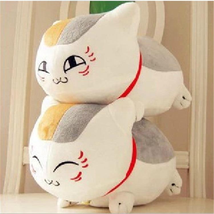23cm Plush Toys Natsume's Book of Friends Japanese Anime Natsume Yuujinchou Nyanko Sensei Cat Action Figure Model Child kids Toy anastasia novykh sensei of shambala book iv isbn 978 966 2296 13 6