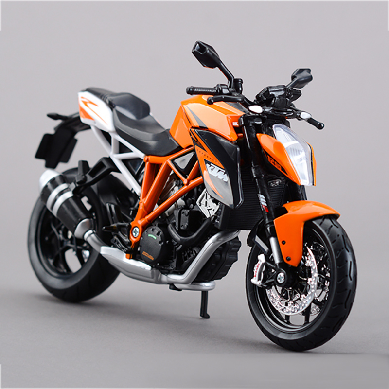 MAISTO KTM 1290 SUPER DUKE R motorcycle model 1:12 scale Motorcycle Diecast Metal Bike Miniature Race Toy For Gift Collection цена 2017