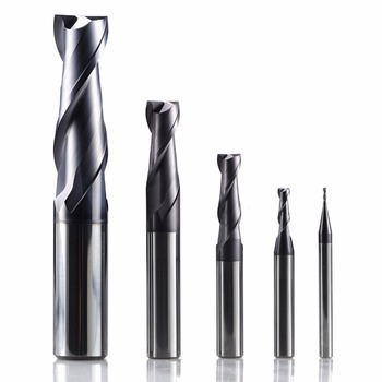 zcc ct GM-2E solid tungsten carbide end mill cnc slot milling cutter cutting tools for metal machining HRC45 high hardness steel machining series zcc ct hm 4b r6 0 solid carbide 4 flute ball nose end mills with straight shank