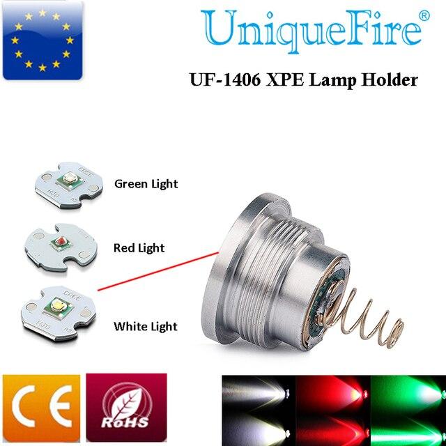UniqueFire UF-1406 Flashlight Bulb  XPE(Green/Red/White Light) LED Drop In Pill Module