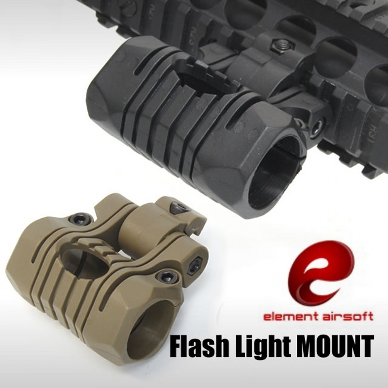 Element OT0424 Tactical 5 Position Flashlight Mount Airsoft Military Hunting 20mm Weaver Rail Mount