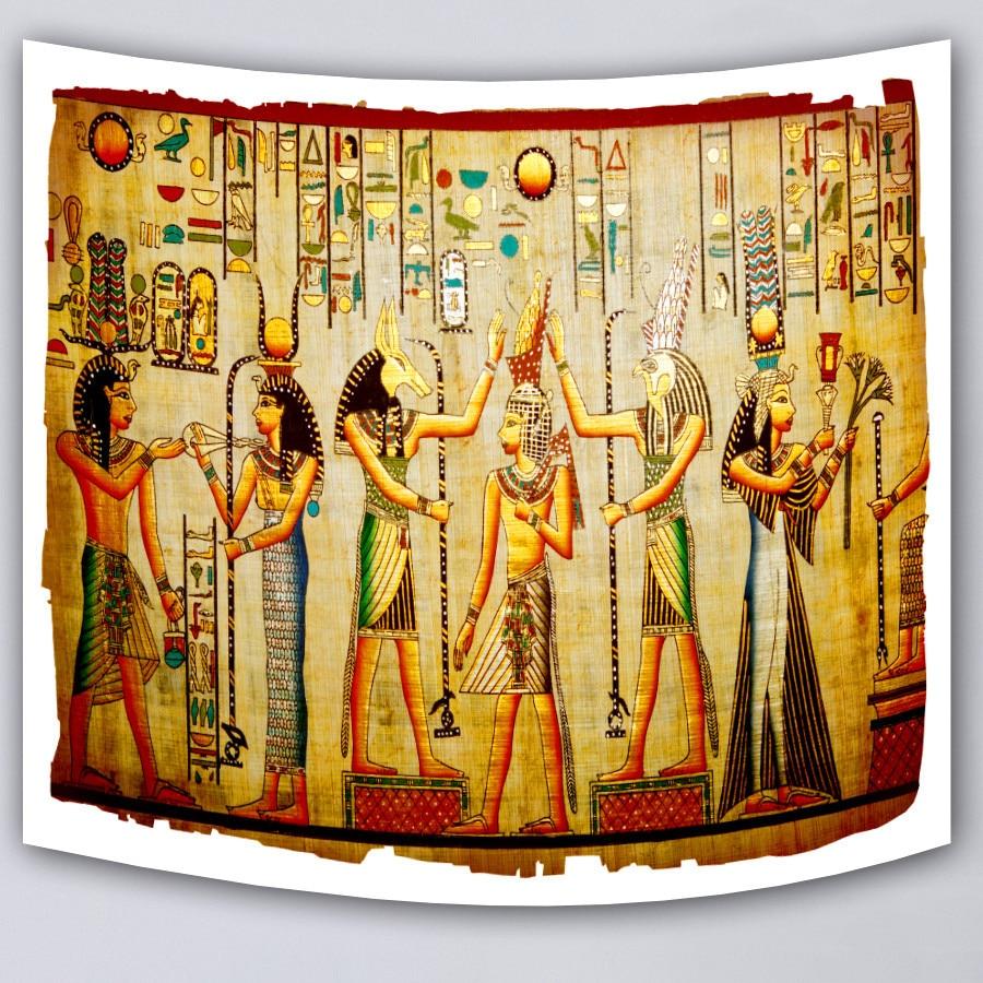 Cilected Ancient Egypt Civilization Decoration Gold Mandala Wall Art ...