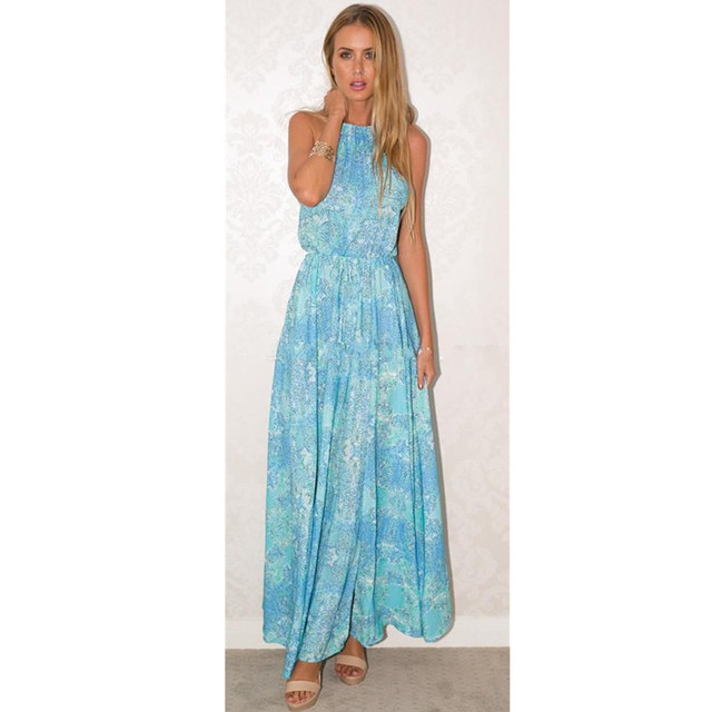 c753b7b93d2fd Long Sundresses Women Party Dresses 2019 Sleeveless Gown Ladies Linen Tunic  Cloths For Women Large Size