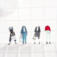 1 pcs cartoon acrylic Kids gifts Home Decoration Hat Backpack Accessories Lovers