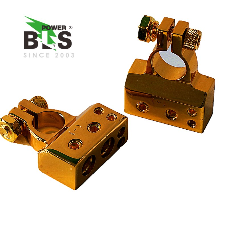 Car Battery Terminals Connector Clamps Quick Release Lift Off Positive Negative Post Clamp for Car Auto