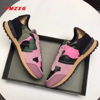 Women Flats Platform Sneakers Genuine Leather Woman Comfortable Casual Shoe Fashion Brand Spring Autumn High Quality Brand Shoes