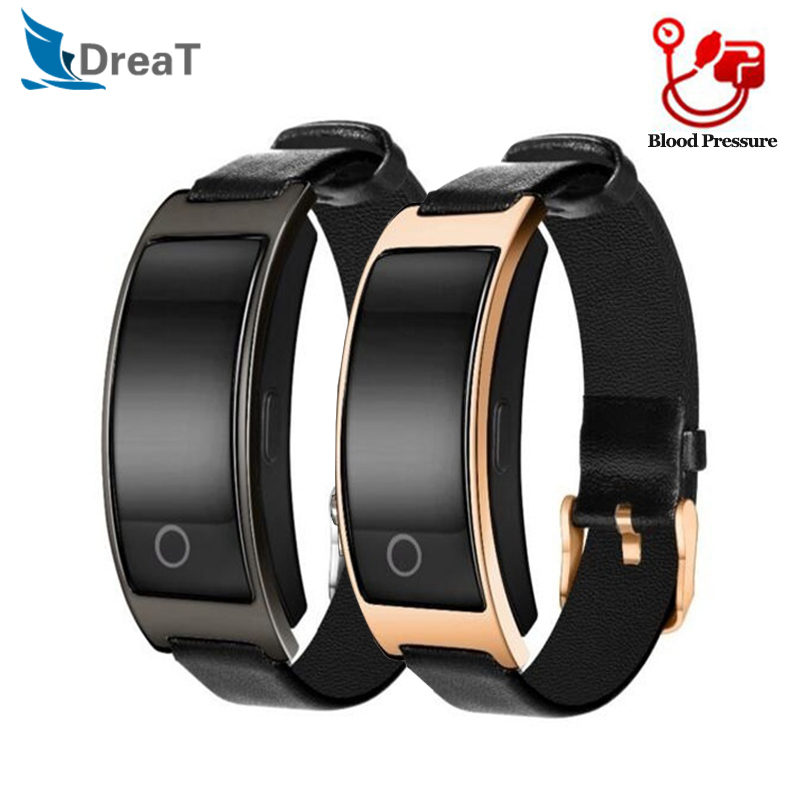 Armband CK11S Bluetooth Blutdruck Herz Rate Monitor Armbanduhr Fitness Armband Tracker Pedometer Smart Band