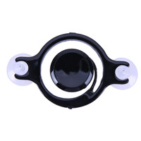 Black Smartphone Mini Joysticks Touch Screen Metal Joystick Game Controller Silicone Suction Cup For Phone tablet Arcade Games