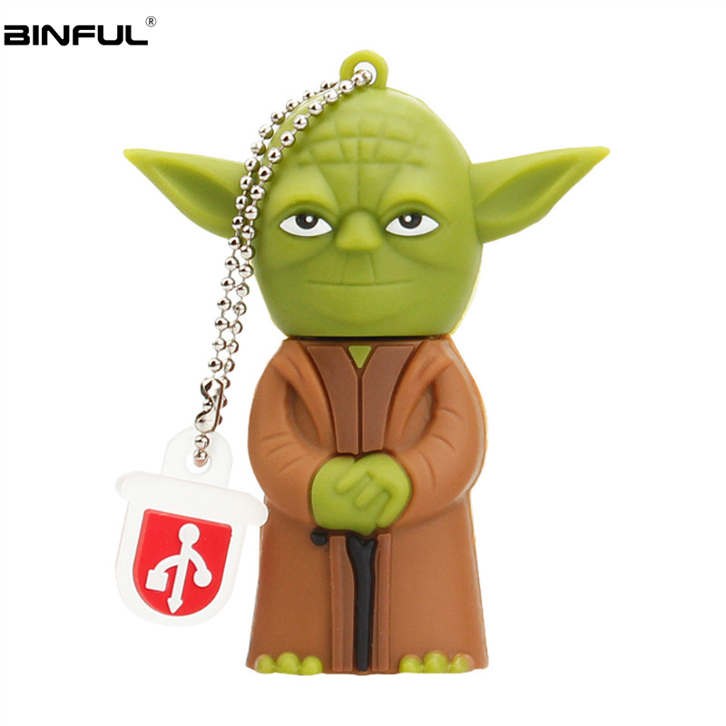Image 4 - Popular Cartoon Star Wars Pen Drive Usb 2.0 Flash Memory Silicone Usb Flash Drive 128gb 64gb 32gb 16gb 8g 4g Pendrive Best Gift-in USB Flash Drives from Computer & Office