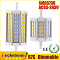 2016 New R7S LED CREE SMD5730 Dimmable led r7s 78mm J78 118mm J118 189mm J189 bulb light halogen Lamps floodlight