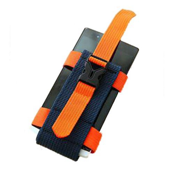 Running Sports Arm Bag Female Outdoors Male Arm Set Fitness Equipment Wrist Bag Arm With AT6911 Color: orange