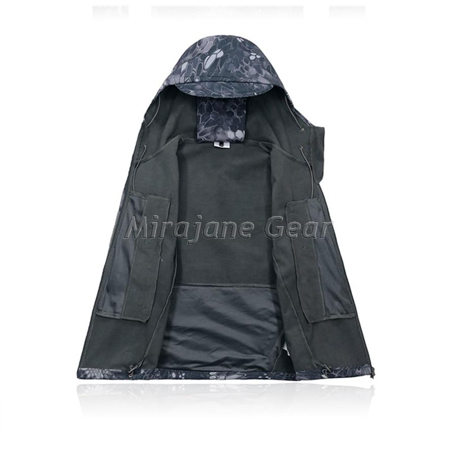 Softshell Veste Camouflage Noir De Vêtements Kryptek Style Tad q1RpY0