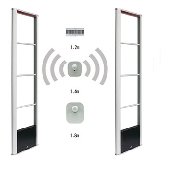 Clothes Store anti-shopliting Eas RF antenna 8.2mhz eas alarm system TX-RX common version eas anti theft system two security doorx2 piece whole set eas system rf8 2mhz shoplifting prevention system