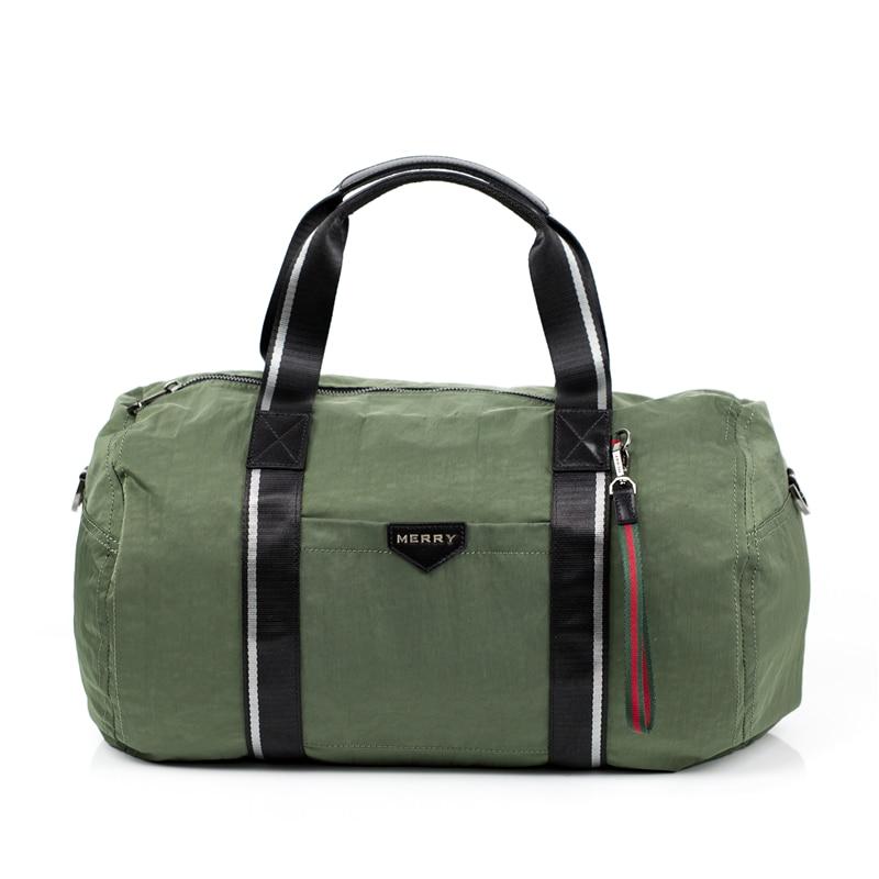 MERRY Brand Women Men Travel Bags Hand Luggage Nylon Waterproof ...