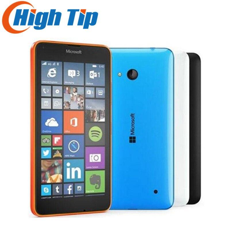 Unlocked Original Nokia Microsoft Lumia 640 Quad core 8GB ROM 8MP Windows cell mobile phone LTE