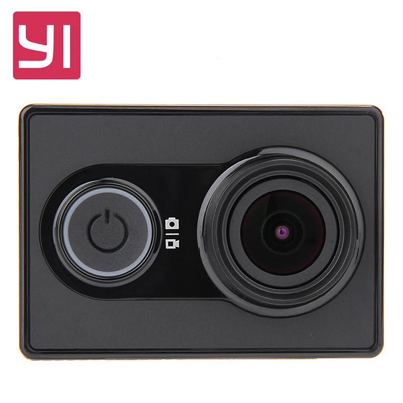 Original Yi Action Camera international Version Ambarella A7LS 155 1080P WiFi 3D Noise Reduction Action Sports