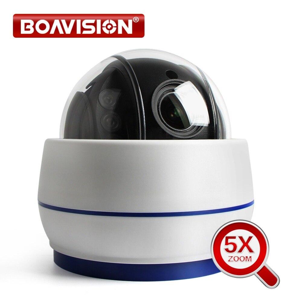 Speed Dome PTZ Câmera IP sem fio Wi-fi HD 1080 P 960 P 5X Zoom 2.7-13.5mm de Foco Automático lente Wi-Fi Áudio CCTV Câmera PTZ Onvif Interior