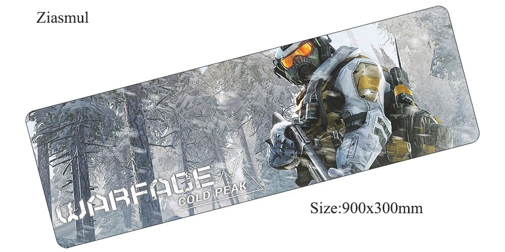 Ziasmul Warface коврик для мыши 900x300x3 мм коврик для мыши компьютер коврик новый игровой padmouse геймер клавиатура мышь коврики ...