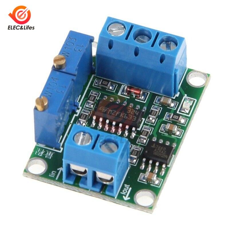 Модуль преобразователя сигналов от тока до напряжения 4-20mA до 0-3,3 V 0-5V 5V 10V преобразователь напряжения Регулируемый Модуль