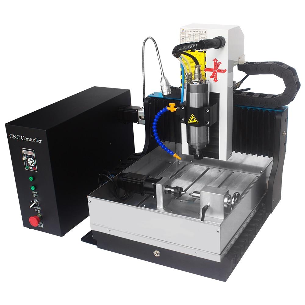 JFT Portable 3030 Axis Draw Metal Engraving Fresatura Router di - Attrezzature per la lavorazione del legno - Fotografia 1