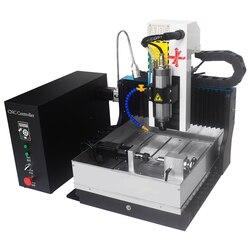 JFT Portable 3030 axe dessiner métal gravure fraisage CNC Machine routeur avec 4th axe rotatif pour bijoux anneau Jade faisant