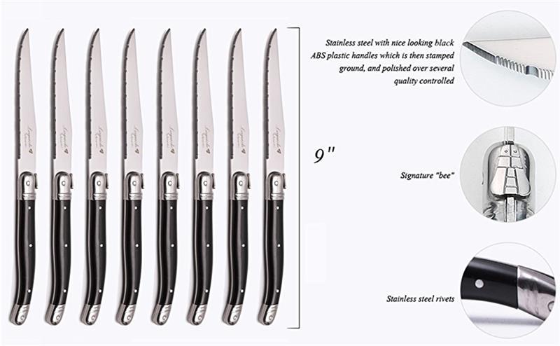 laguiole steak knife set  (9)