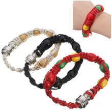 1pc Portable Bracelet Smoking pipe Natural Hemp Rope Pipe for  Cigarette Machine Accessories