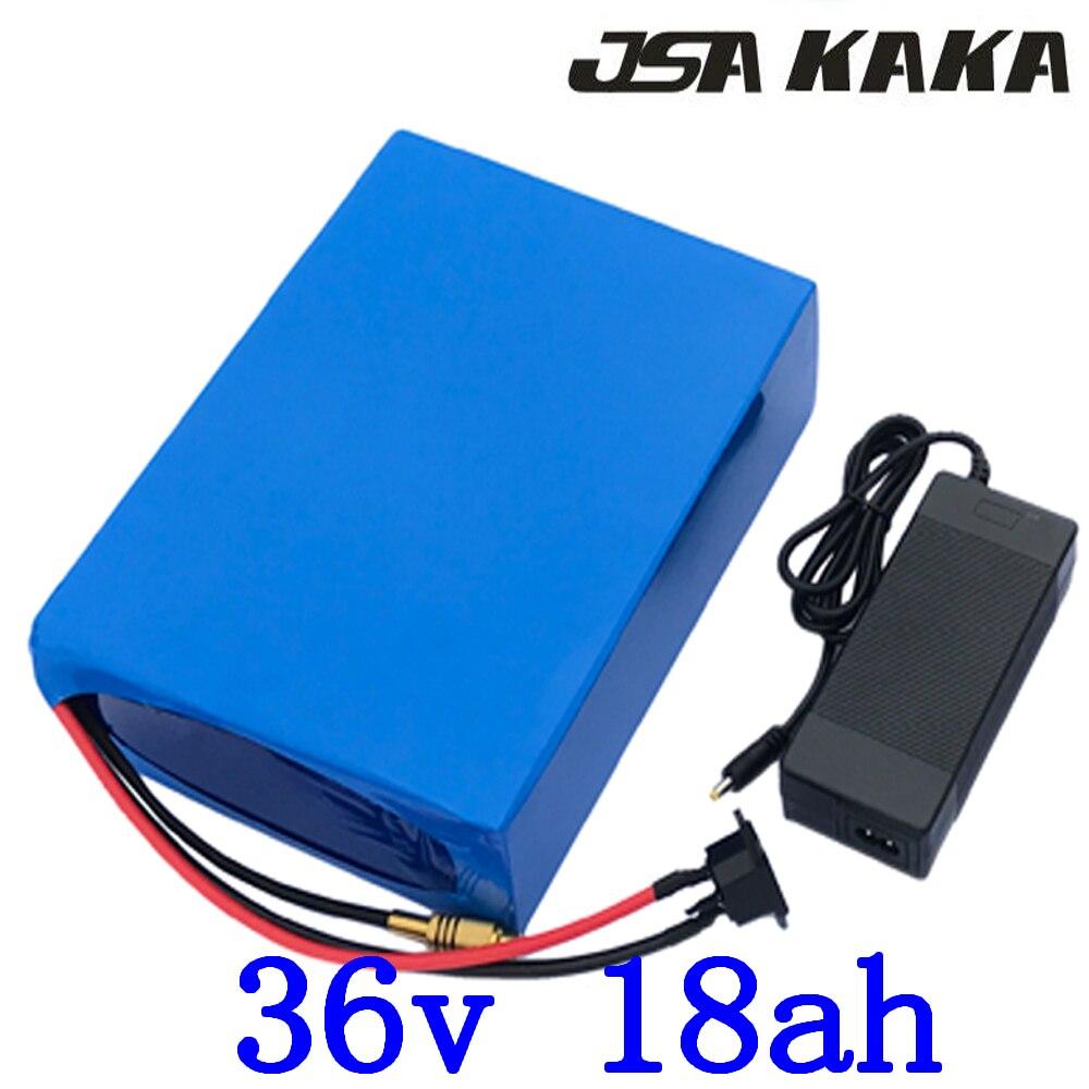 36V 500W 1000W Ebike Battery 36V Electric bike battery 36V 18AH Lithium battery 36V 13AH 15AH 18AH ebike battery with 2A charger