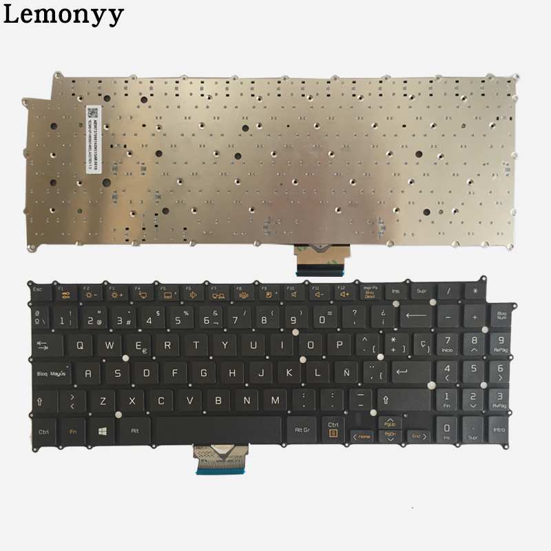 все цены на Spanish Laptop Keyboard For LG 15Z960 AEW73709814 HMB8146ELA02 SP laptop keyboard black онлайн