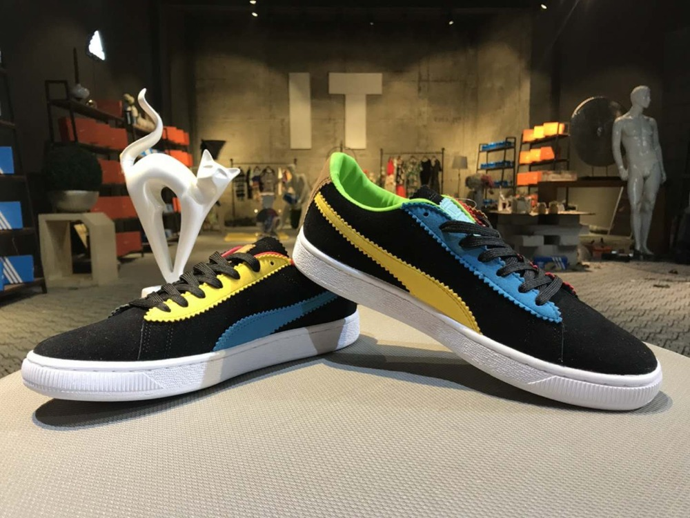 2018 Puma man icial synchronization, original box originalAbout 50th anniversary of the samples commemorating badminton shoes