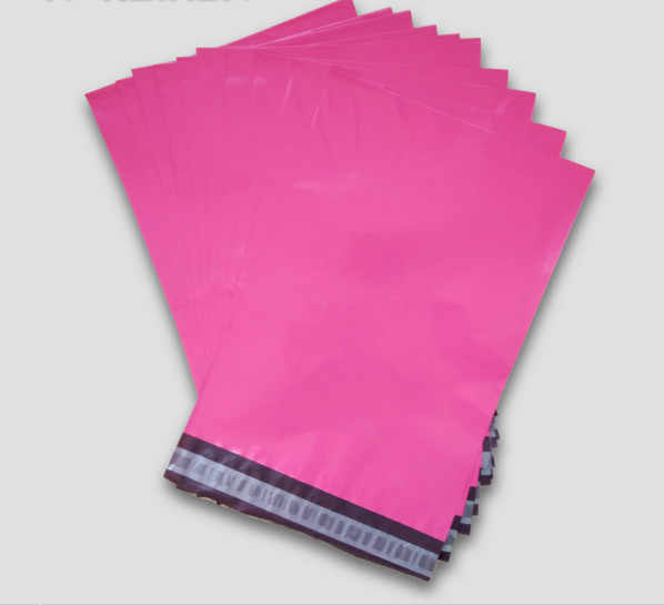 100PCS Poly mailer Pink color poly mailing envelope pouches poly post bags pink color mailing bags