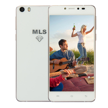 ORI G инал MLS diamond 5 inch 4 г LTE 2 ГБ + 32 ГБ WI-FI смартфон 2100 мАч Ультра -тонкий Quad Core Android 5.0 открыл мобильный телефон