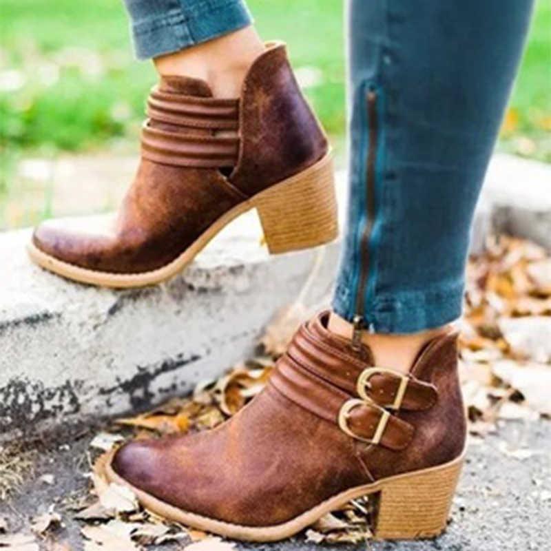Женские ботильоны сезон весна осень женская обувь с острым носком украшенная
