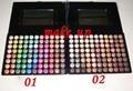 Nuevo 88 color Metal Mania Paleta de Sombra de ojos en polvo de maquillaje paleta de 88 colores de sombra de ojos paleta