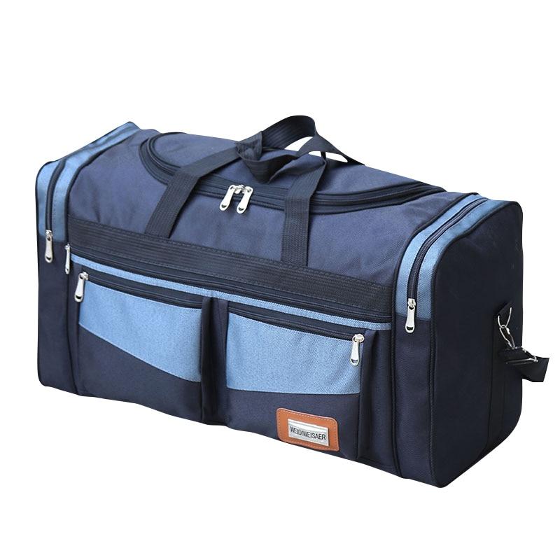 Travel Luggage Duffle Bag Lightweight Portable Handbag Dancer Man Large Capacity Waterproof Foldable Storage Tote