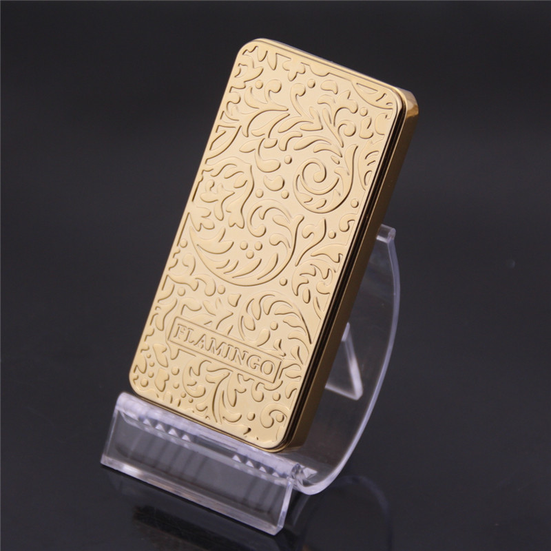 Usb charging ultra thin windproof lighters double arc pulse arc creative personality font b electronic b