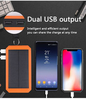 Wholesale Price 30000mAh Solar Power Bank Portable External Battery Solar Powerbank Charger with Electric Cigarette Lighter