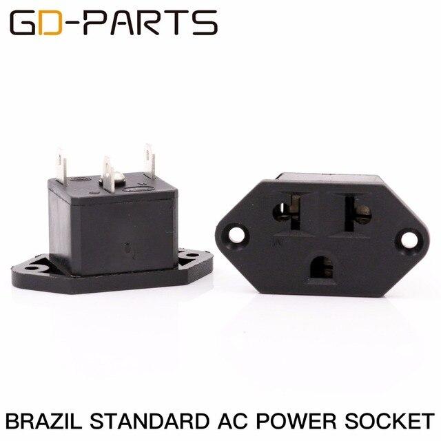 GD PARTS Brazil Standard Female AC Power Connector Power Socket Jack ...