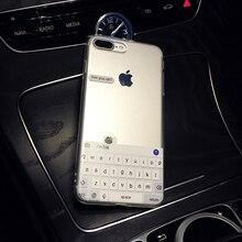 Funny Meme Are You Ok I Am Fine Clear Phone Case iPhone 11 Pro 6 6S 7 7Plus 5 5S 8 8Plus X XS Max SF