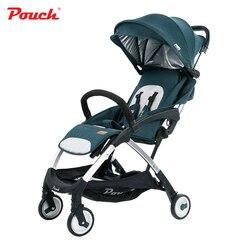 الفاخرة ضوء الوزن عربة طفل محمولة مظلة للطي الرضع poussette عربات لحديثي الولادة العلامة التجارية الحقيبة A18 السفر سيارة