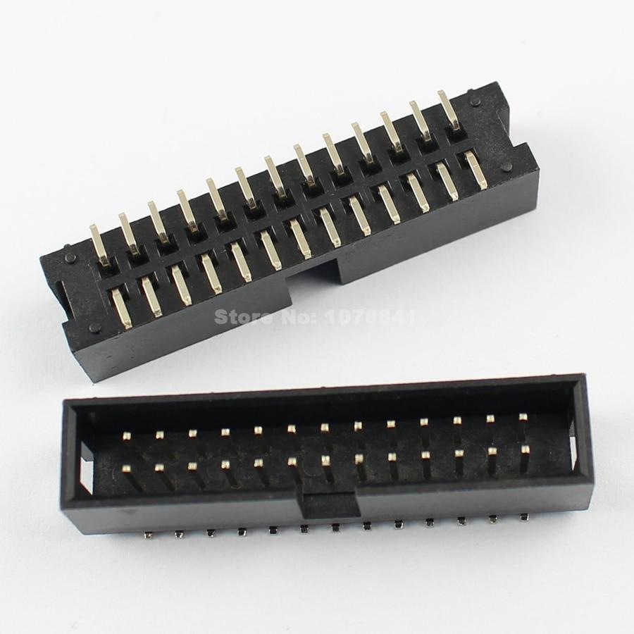 1000Pcs 2mm Pitch  2x13 Pin 26 Pin IDC FC Female Header Socket Connector