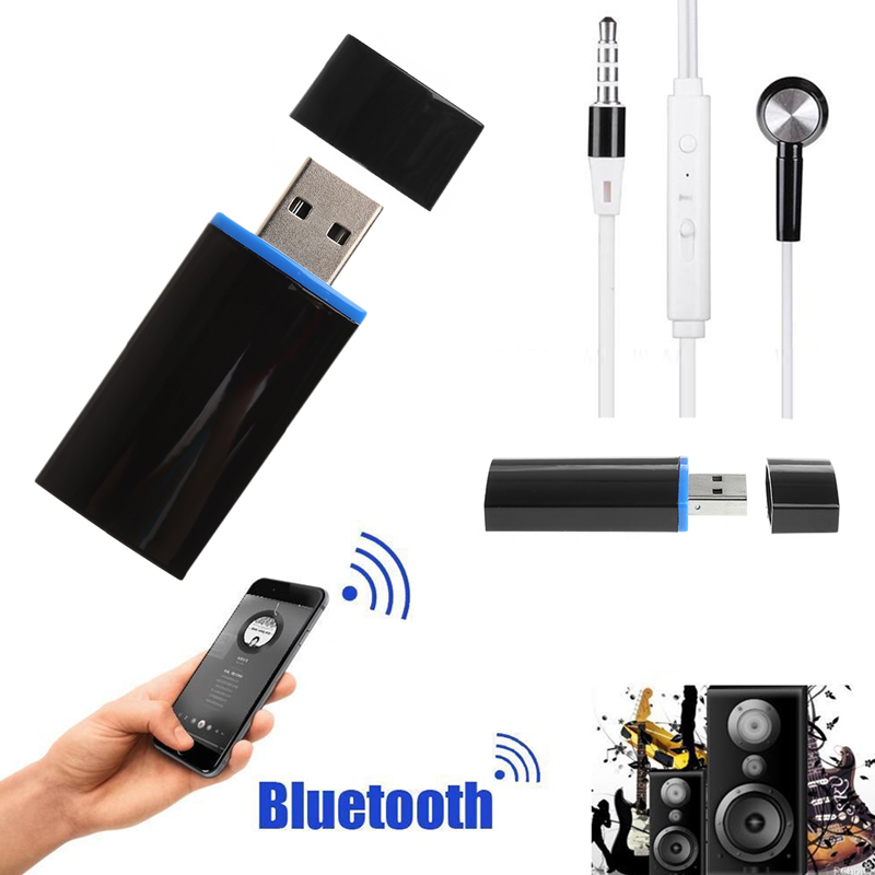 ANENG 3.5mm Wireless Bluetooth USB AUX Music Audio Receiver Adapter 4.1+EDR Suitable For Android for iOS