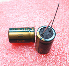 6pcs 35V 3300UF  16*25  high frequency low impedance aluminum electrolytic capacitor 3300uf 35v