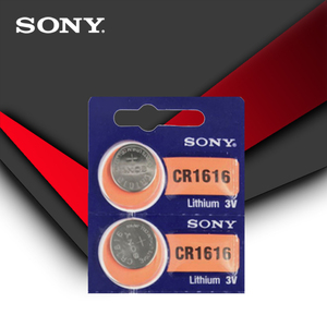 Image 2 - Sony 100% pila de botón CR1616 Original, 5 unidades/lote, para reloj, llave remota de coche, cr 1616, ECR1616, GPCR1616, 3v, batería de litio